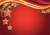 Holiday,Star Shape,Christmas,Frame,Design,Backgrounds,Gold Colored,Red,Abstract,Curve,Elegance,Winter,Shape,Computer Graphic,Striped,Pattern,Colors,Decoration,Vector,Ilustration,Shiny,Art,Color Image,Image,Creativity,Christmas Ornament,Christmas Decoration,Swirl,Christmas,New Year's,Wave Pattern,Holidays And Celebrations,Holiday Backgrounds,Horizontal,Ornate,Silhouette,Season,No People,Design Element
