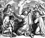 Noah,Sacrifice,Bible,Ilustration,Image Created 19th Century,Engraved Image,Monoprint,Killing,Group Of People,Origins,History,Christianity,Black And White,Image Created 1880-1889,People,Concepts And Ideas,Farm Animals,Beginnings,Animals And Pets,Religion,Horizontal,Women,Male,Men,Picture Book
