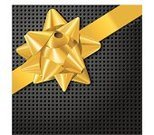 Gift,Bow,Bow,Ribbon,Gold Colored,Yellow,Wrapping Paper,Box - Container,Black Color,Luxury,Vector,Gift Box,Christmas Decoration,Ornate,Computer Graphic,Decoration,Grid,Full Frame,Digitally Generated Image,Shiny,Directly Above,Holidays And Celebrations,gradient mesh,No People,Two Objects