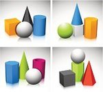 Three-dimensional Shape,Cylinder,Shape,Geometric Shape,Cone,Mathematical Symbol,Sphere,Geometry,Cube Shape,Vector,Single Object,Orange Color,Pyramid Shape,Square,Ilustration,Red,Reflection,Purple,Medicine And Science,Objects/Equipment,Science Symbols/Metaphors,Green Color,Illustrations And Vector Art,Shadow,Silver Colored,Blue
