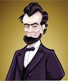 Abraham Lincoln,Mt Abraham,President,Abe,Lawyer,Cartoon,Colonial Style,Politician,Portrait,Politics,Slavery,Fine Art Portrait,Gettysburg,USA,Tie,Men,History,Government,Bow,Speech,Concepts And Ideas,Power,Vector Cartoons,Beard,Wisdom,Remote,People,War,Standing,Illustrations And Vector Art