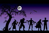 Halloween,Costume,Silhouette,Party - Social Event,Vampire,Frankenstein,Monster,Mummified,Witch,Backgrounds,Werewolf,Spooky,Back Lit,Tree,Bat - Animal,Landscape,Cartoon,Jack O' Lantern,Horror,Pumpkin,Purple,Moon,Domestic Cat,Raven,Characters,Crow,Night,Fantasy,Undead,Evil,Dark,Dead Plant,Broom,Sky,Black Color,Shadow,Fear,Glowing,Joy,Fun,Holidays And Celebrations,Animal,Copy Space,Dry,Halloween,Smiling,October,Dusk,Full,Bird,Holiday Backgrounds,Celebration