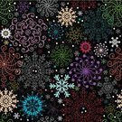 Christmas,Snowflake,Pattern,Wallpaper,Backgrounds,Purple,Black Color,Humor,Winter,Multi Colored,Computer Graphic,White,Effortless,Red,Orange Color,Green Color,Star Shape,Symbol,Pink Color,Blue,Ilustration,Vector,Pastel Colored,Vector Ornaments,Vector Backgrounds,Yellow,Repetition,Illustrations And Vector Art
