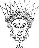 India,God,Durga,Hinduism,Goddess,Human Face,Drawing - Art Product,Calligraphy,Ilustration,Line Art,Creativity,Lords,Indian Ethnicity,Design Element,dharma,Decoration,hand drawn,Illustrations And Vector Art,Religion,Spirituality,Clip Art,Concepts And Ideas,Vector,Holidays And Celebrations,Sketch,Ornate,Ethnicity,Indian Subcontinent Ethnicity,Religion