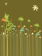 Tropical Climate,Pattern,Nature,Forest,Leaf,Science,Lush Foliage,Environment,Life,Plant,Green Color,Growth,Non-Urban Scene,Botany,Ilustration,Rural Scene,Biology,Photosynthesis,Uncultivated,Illustrations And Vector Art,Nature,Bush,Vector Florals,Gardens,Plants