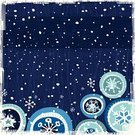Holiday,Christmas,Winter,Snow,Snowflake,Backgrounds,Cartoon,Vector,Design,Ilustration,Snowing,Season,Christmas Ornament,Cute,Night,Design Element,Illustrations And Vector Art,Nature,Composition,Holidays And Celebrations,Copy Space,Meteorology,Weather,Climate