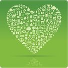 Heart Shape,Love,Symbol,Environment,Computer Icon,Human Hand,Nature,Earth,Green Color,Globe - Man Made Object,Carbon Dioxide,Car,Pollution,Symbols Of Peace,Planet - Space,Bicycle,Tree,Animal,Gear,Vector,Environmental Conservation,Cycling,Flower,Sun,Clean,Garbage,Hybrid Vehicle,Fuel and Power Generation,Industry,Butterfly - Insect,Peace On Earth,Single Flower,Light Bulb,Ilustration,Battery,Flame,Fossil Fuel,Mode of Transport,Bubble Car,Domestic Car,Thermometer,Pine Tree,Alternative Energy,Nature,Illustrations And Vector Art,Halogen Lightbulb,Concepts And Ideas