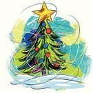 Christmas,Colors,Grunge,Art,Paint,Vector,Painted Image,Creativity,Christmas Tree,Brush Stroke,Traditional Festival,Paintings,Drawing - Art Product,Multi Colored,Sketch,Design Element,Star Shape,Ilustration,Christmas,Copy Space,hand drawn,December 25th,Vector Backgrounds,Illustrations And Vector Art,Decoration,Square,Holiday,Composition,Holidays And Celebrations,Painterly Effect