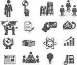Symbol,Meeting,Business,Icon Set,Office Interior,Built Structure,Businessman,Stick Figure,Office Building,Telephone,Human Hand,Map,Newspaper,Currency,Communication,Global Business,E-Mail,Handshake,Vector,Document,Pen,Graph,Sphere,Laptop,Arrow Symbol,Vector Icons,Illustrations And Vector Art