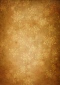 Christmas,Backgrounds,Holiday,Old-fashioned,Gold Colored,Snowflake,Paper,Textured,Wrapping Paper,Winter,Dirty,Snow,Brown,Christmas Paper,Celebration,Old,Abstract,Wallpaper Pattern,Antique,Art,Design,Decoration,Handmade Paper,Dark,Brown Background,Stained,Snowing,Crumpled