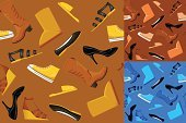 Shoe,Seamless,Dress Shoe,Abstract,Fashion,Women,Elegance,Vector,Sports Shoe,Snow Boot,Fashion Industry,Backgrounds,Brown,Multi Colored,Contrasts,Heat - Temperature,Suede,Cool,Vector Backgrounds,Illustrations And Vector Art,Wallpaper Pattern,Pump Shoe,Sandal,Design,Modern,Yellow,Boot,Store,Western Boot,Beauty And Health,Fashion,Leather,Blue,Cowboy Boot,Vector Cartoons,Ilustration,Female,Funky,Wrapping Paper