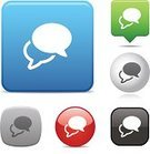 Symbol,Computer Icon,Discussion,Speech Bubble,Gossip,Talking,comment,Communication,Icon Set,Interface Icons,Shiny,Message,Text,Green Color,Blue,Social Networking,Two Objects,White,Global Communications,Gray,Simplicity,Silver Colored,Design,Computer Graphic,Reflection,Vector,Digitally Generated Image,Collection,Sparse,White Background,Black Color,Design Element,Modern,Ilustration,Clip Art,Red