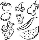 Apple - Fruit,Strawberry,Silhouette,Fruit,Food,Symbol,White,Black Color,Vegetable,Grape,Cherry,Pear,Eating,Watermelon,Ilustration,Seed,Berry Fruit,Tropical Climate,Plant,Group of Objects,Crop,Leaf,Lemon,Design,Banana,Sweet Food,Food And Drink,Set,Remote,Illustrations And Vector Art,Design Element,Vegetarian Food,Nature,Fruits And Vegetables,Vector Icons,Nature