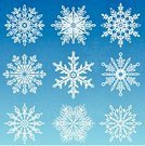 Snowflake,Christmas,Winter,Snow,Vector,Decoration,Ice,Holiday,White,Elegance,Computer Graphic,Art,Snowing,Abstract,Christmas Decoration,Ilustration,Blue,Clip Art,Nature,Frost,Beauty In Nature,Design Element,No People,Design