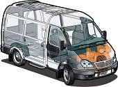 Car,Van - Vehicle,Engine,Plan,Service,Mini Van,Truck,Infographic,Land Vehicle,Outline,Drawing - Art Product,Computer Graphic,Cargo Container,Vector,Ilustration,Data,Transportation,Freight Transportation,Shipping,White,Equipment,Mode of Transport,Headlight,Image,Delivering,Traffic,Industry,Transportation,Wheel,Isolated Objects,Illustrations And Vector Art,Isolated-Background Objects