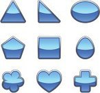 Triangle,Shape,Square Shape,Interface Icons,Shiny,Ellipse,Blue,Cross Shape,Vector,No People,vector icon,pentangle,Egg Shape,Symbol,Objects with Clipping Paths,Illustrations And Vector Art,Isolated Objects,White Background,Vector Icons,Geometric Shape,Heart Shape,Computer Icon,Reflection