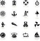 Symbol,Nautical Vessel,Lighthouse,Computer Icon,Compass,Navy,Icon Set,Propeller,Sailor Hat,Marines,Anchor,Helm,Hand-Held Telescope,Sailboat,Life Belt,Steering Wheel,Rope,Life Jacket,Rescue,Simplicity,Porthole,Black Color,Direction,Design Element,Bell,Hourglass,Lantern,Isolated,Star Shape,Group of Objects,Internet Icon,Safety Equipment,Nautical Star