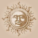 Sun,Old-fashioned,Retro Revival,Human Face,Antique,Map,Woodcut,Ilustration,Old,Engraved Image,Drawing - Art Product,Astronomy,Star - Space,Fortune Telling,Cartography,Obsolete,Planet - Space,Drawing - Activity,Dirty,Decoration,Spirituality,Design Element,Pencil Drawing,Rough,Smiley Face,Heaven,Solar System,Religion,Vector,Star Shape,Ink,Vellum,Cultures,Parchment,Classic,Baroque Style,Grunge,Carving - Craft Product,Anthropomorphic Face,Glowing,graphic elements,Faced Sun,Hand Stamp,Heat - Temperature,Single Object,Magic,Messy,Close-up,shabby chic,No People,Religious Symbol,Religious Icon,Sun Face