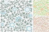 Art Nouveau,Petal,Floral Pattern,Decoration,Plant,Flower,Ornate,Holiday Backgrounds,Vector Backgrounds,Vector Ornaments,Holidays And Celebrations,Outline,Backgrounds,Leaf,Silhouette,Illustrations And Vector Art