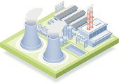 Isometric,Nuclear Power Station,Power Station,Power,Factory,Energy,Industry,Fuel and Power Generation,Nuclear Energy,Nuclear Reactor,Electricity,Building Exterior,Generator,Cooling Tower,Steam,Smoke Stack,Engineering,Environment,Chimney,Technology,Pollution,Chernobyl,Grass,Radiation,Aluminum Mill,Radioactive Warning Symbol,Air Pollution,Smoke - Physical Structure,Parking Lot,Toxic Substance,Prefabricated Building,Power,Concepts And Ideas,Nature,Smog,Industry,Global Warming,Man Made Structure,Aluminum,Illustrations And Vector Art,Environmental Damage,Condensation
