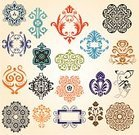 Pattern,Decoration,Victorian Style,Baroque Style,Vector,Retro Revival,Old-fashioned,Ornate,Classic,Backgrounds,Rococo Style,Shape,Decor,Renaissance,Old,Nostalgia,Elegance,Set,Creativity,Ilustration,Ancient,Part Of,Collection