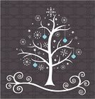 Christmas,Christmas Tree,Christmas Card,Holiday,Snowflake,Vector,Backgrounds,Snowball,Winter,Abstract,Pattern,Elegance,Outline,Decoration,White,Christmas Ornament,Star - Space,Concepts,Computer Graphic,Cool,Shape,Celebration,Style,Design,Brown,Ilustration,Backdrop,Christmas,Holidays And Celebrations