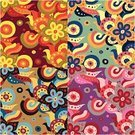 Hippie,Flower,Pattern,Backgrounds,Art,Seamless,Elegance,Retro Revival,Style,Simplicity,Vector,Cartoon,Effortless,Painted Image,Textile,Springtime,Decoration,Paper,Design,Scroll Shape,Summer,Wrapping Paper,Illustrations And Vector Art,Beautiful,Leaf,Fashion,Vector Ornaments,Ilustration,Ornate,Swirl,Beauty And Health,Beauty,Nature,Abstract