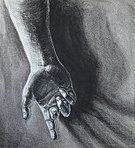 Charcoal Drawing,Human Hand,Ilustration,Sketch,Drawing - Activity,Pencil Drawing,Graphite,Pencil,Painted Image,Black And White,Pastel Drawing,Concepts And Ideas,Illustrations And Vector Art,People,Classic,dramatic lighting,Smudged,Creativity,Black Color
