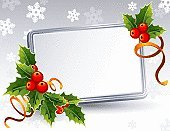 Christmas,Frame,Holly,Picture Frame,Greeting Card,Holiday,Banner,Vector,Bow,Ribbon,Greeting,Blank,Red,Winter,Celebration,Silver Colored,Leaf,Silver - Metal,Decoration,Empty,Color Image,Holiday Backgrounds,Season,Decor,Vector Backgrounds,Backgrounds,Holidays And Celebrations,Plant,Ornate,Ilustration,Snowflake,Green Color,Berry Fruit,December,Abstract,Christmas,Elegance,No People,Illustrations And Vector Art