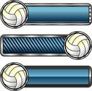 Volleyball - Sport,Volleyball,Frame,Banner,Sport,Ball,Vector,Copy Space,Placard,Chrome,Metallic,Sports And Fitness,Color Gradient,Rectangle,Striped,Illustrations And Vector Art,Team Sports,Design Element,Shiny,Blue,Shape