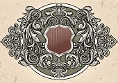 Medieval,Baroque Style,Coat Of Arms,Decoration,Shield,Frame,Design,Insignia,Circle,Ornate,Sign,Retro Revival,Scroll Shape,Scroll,Old-fashioned,Swirl,Engraved Image,Vector,Symbol,Curve,Victorian Style,Rococo Style,Banner,Floral Pattern,filigree,Majestic,Elegance,Abstract,Antique,Gothic Style,Curled Up,Vignette,Backgrounds,Obsolete,Decor,Paper,Gray,Placard,Yellow,Classical Style,Luxury,Spiral,Blank,Illustrations And Vector Art,Cartouche,Clip Art,flourishes,Pastel Colored,Vector Backgrounds,Vector Ornaments,Deco,Copy Space,Grayscale