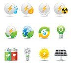 Energy,Electricity,Sun,Symbol,Solar Power Station,Power,Computer Icon,Icon Set,Water,Solar Energy,Fuel and Power Generation,Environment,Battery,Green Color,Light Bulb,Sunlight,Earth,Solar Panel,Plant,Recycling,Globe - Man Made Object,Environmental Conservation,Leaf,Solar Equipment,Power Supply,Drop,Push Button,Vector,Interface Icons,Group of Objects,Sphere,Alternative Energy,Planet - Space,Set,graphic element,fire power,Green Living,Collection,Wind Power,Ideas,Water Energy,Fluorescent Light Bulb,Shadow,useful,Design,Concepts,Water Drop,Isolated On White