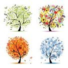 Tree,Four Seasons,Season,Flower,Autumn,Springtime,Christmas,Falling,Bird,Cartoon,Vector,Abstract,Art,Butterfly - Insect,Winter,Leaf,Silhouette,Backgrounds,Summer,Sunflower,Circle,Nature,Environment,Green Color,Snow,Outline,Ilustration,Isolated,Orange Color,Design,Branch,Blue,Painted Image,Insect,Forest,Yellow,Snowflake,Design Element,Bush,Collection,Red,Black Color,Shape,Maple Tree,Rowanberry,Plant,Decoration,Rowan Tree,Petal,Nature,Nature Symbols/Metaphors,Vector Cartoons,Nature Abstract,Illustrations And Vector Art