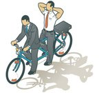 Tandem Bicycle,Bicycle,Business,Cycling,Isometric,Partnership,Relaxation,Businessman,Clip Art,Couple,Vector,Team,Cooperation,Illustrations And Vector Art,Business Concepts,Business,Competition,Ilustration,Mode of Transport