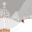Christmas,Santa Claus,Christmas Card,Snow,Winter,House,Christmas Tree,Greeting Card,Retro Revival,Backgrounds,Landscape,Humor,Scandinavian Culture,Mountain,Vector,Footprint,Nordic Countries,Delivering,Old-fashioned,Gift,Ilustration,White,Forest,Sparse,Snowflake,Christmas Decoration,Grunge,Elegance,Red,Swiss Culture,Walking,Rural Scene,Tree Topper,Design,Christmas Ornament,Cultures,Outdoors,Fir Tree,Textured,Sack,Copy Space,Nature,Vanishing Point,Snowing,Hut,Box - Container,Carrying,Season,Holidays And Celebrations,Christmas,Illustrations And Vector Art,December,Holiday Backgrounds,Diminishing Perspective,Arrival