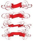 Ribbon,Banner,Red,Design,Design Element,Scroll Shape,Isolated,Swirl,Shape,Isolated On White,Colors,White,Paintings,Computer Graphic,Image,Decoration,Art,Vector Backgrounds,Isolated Objects,Vector,Ilustration,Collection,Ornate,No People,Computer,Isolated-Background Objects,Illustrations And Vector Art,imagery,Vector Icons