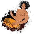 Drum,Human Hand,African Music,African Descent,African Culture,Entertainment,Hitting,Musical Instrument,Music,Men,Ilustration,Pencil Drawing,Grunge,Illustrations And Vector Art,Arts And Entertainment,Music,rhythms,Drawing - Art Product,Vector,Play,Sound,Drawing - Activity