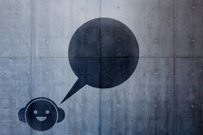Music,Concrete,Urban Scene,Headphones,Wall,Stencil,Graffiti,Sparse,Talking,Happiness,Modern,Black Color,Construction Industry,Smiling,Character Traits,Arts And Entertainment,Built Structure,Concepts And Ideas,Modern Life,Music,Surrounding Wall,Building Exterior,Ilustration,Copy Space,Mural