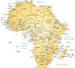 Africa,Map,Cartography,Vector,Ilustration,White Background,Travel Locations,Illustrations And Vector Art,Concepts And Ideas,No People
