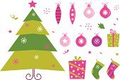 Christmas,Tree,Symbol,Retro Revival,Humor,Funky,Cartoon,Pink Color,Ball,Decoration,Fun,Design Element,Shape,Gift,Isolated,Holiday,Christmas Decoration,Cute,Art,Computer Graphic,Christmas Ornament,Set,Green Color,Vector,Winter,Creativity,Clip Art,Ilustration,Snowflake,White,Design,Snow,White Background,Star Shape,Celebration,Vector Icons,Season,Day,Holidays And Celebrations,Isolated On White,Holiday Symbols,Christmas,December,Illustrations And Vector Art