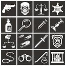Prison,Symbol,Handcuffs,Computer Icon,Law,Police Force,Hangmans Noose,Thief,Narcotic,Justice - Concept,Stealing,Toxic Substance,Weight Scale,Vector,Murder,Handgun,Medicine,Human Skull,Dagger,Syringe,Internet,Computer Graphic,Design Element,Surveillance,Legal System,Gun,Set,Sheriff,Design,Human Hand,Exploration,Knife,Glass - Material,Pill,Bottle,Badge,Crime,Vector Icons,Candle,The Media,Series,Law Enforcement And Crime,Industry,Illustrations And Vector Art,Ilustration,Criminal,Capsule,Interface Icons,Objects/Equipment
