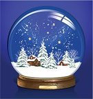 Globe - Man Made Object,Snow Globe,Snow,Christmas,House,Town,Vector,Inside Of,Sphere,Winter,Toy,Wood - Material,Snowing,Glass - Material,Ilustration,Snowflake,Blue,Christmas Tree,Isolated,Star Shape,Star - Space,Shiny,Composition,Christmas,Illustrations And Vector Art,Season,Isolated On Blue,Holidays And Celebrations