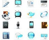 Symbol,The Media,Icon Set,E-Mail,Calendar,Newspaper,Blog,Television Set,Communication,Internet,Telephone,Vector,Connection,comment,Computer,Camera - Photographic Equipment,Podcast,Address Book,Mail,Smart Phone,Envelope,Microphone,Global Communications,Photography,Bookmark,Planet - Space,Letter,Technology Symbols/Metaphors,Technology,Spiral Notebook,Communications Technology,Mobile Phone,Discussion,Earth,Pen,Ilustration