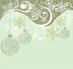 Holiday,Christmas,Abstract,Backgrounds,Vector,Snow,Green Color,Art,Winter,Ice,Beauty,Celebration,Snowflake,Decoration,Design,Ilustration,Vector Backgrounds,Vector Ornaments,Illustrations And Vector Art,December,Image,Style,Year