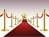 Carpet - Decor,Red,Red Carpet,Catwalk - Stage,Steps,Star Shape,Gold Colored,Ribbon,Luxury,Design,Three-dimensional Shape,Vanishing Point,Vector,Arts And Entertainment,Celebrities,Arts Backgrounds,Vector Backgrounds,Illustrations And Vector Art,Gray,Ilustration,Computer Graphic,Majestic,Bright
