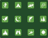 Symbol,Camping,Religious Icon,Computer Icon,Icon Set,Outdoors,Hiking,Canoe,Fish,Kayak,Fishing,Kayaking,Activity,Bicycle,Tent,Recreational Pursuit,Travel,Nature,Tree,Cycling,Summer,Binoculars,Canoeing,National Park,People,Vector,Leisure Activity,Fire - Natural Phenomenon,Journey,Pine Tree,Vacations,Ilustration,Design Element,Looking At View,Green Color,Computer Graphic,One Person,Travel Destinations,National Recreation Area,canoers,Relaxation,Digitally Generated Image,Nature,Sports And Fitness,Illustrations And Vector Art