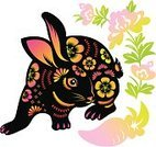 Rabbit - Animal,New Year's Eve,Chinese New Year,New,China - East Asia,Astrology Sign,Year,Asian Ethnicity,Animal,Flower,Chinese Culture,Symbol,Chinese Zodiac Sign,Traditional Festival,paper-cut,Ilustration,Decoration,Year Of The Rabbit,East Asian Culture,Baby Rabbit,Radish,Carrot,Plant,papercut,Clip Art,Vector,paper cut,Craft,New Year,Cultures,spring festival,Blossom,New Year's Day,Multi Colored,Paper,Art,Craft Product