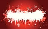 Grunge,Snowflake,Winter,Christmas,Holiday,Backgrounds,Abstract,Celebration,Snow,Icicle,Emo,Splattered,Christmas,Vector Backgrounds,Holidays And Celebrations,Ilustration,Vector,Ice,Illustrations And Vector Art
