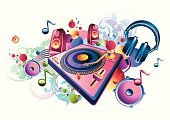 1980s Style,Music,Pop,Rock and Roll,Hip Hop,Dance And Electronic,Turntable,Backgrounds,Hip Hop,Record,Electrical Equipment,Funky,Speaker,Graffiti,The Media,Electro Pop,Headphones,Sound Recording Equipment,Playing,Design,Sound Wave,Sound,Vector,Splashing,Spray,Multi Colored,Volume,Chill Out,Bass,Symbol,Ilustration,Modern,Abstract,Music,Playful,Blue,Spotted,Interconnect,Arts And Entertainment,Shiny,flourishes,Stereo,Illustrations And Vector Art,Musical Note,Copy Space,Vector Cartoons,Youth Culture,Treble,Play,Audio Equipment,Cool,Entertainment,Sparse