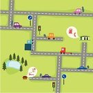 Map,Cartoon,Road,Cartography,Street,Town,Car,Travel,Traffic,Symbol,Abstract,Tree,Built Structure,People Traveling,Toy Block,Urban Scene,Apartment,Food,Light - Natural Phenomenon,Alley,Action,Business Travel,Backgrounds,Upside Down,Building Exterior,Autumn,Igniting,Pond,Vector,Travel Destinations,Summer,Ruler,Outdoors,Bush,Travel Backgrounds,Transportation,Season,Construction,Industry,squire,Single Object,Architecture,Image,Travel Locations